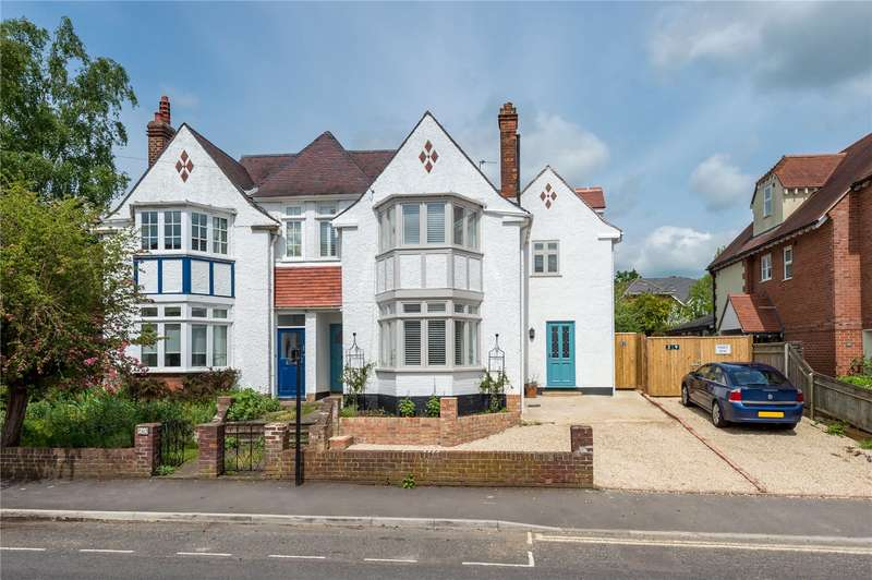 4 Bedrooms Semi Detached House for sale in Victoria Road, Summertown, Oxford, OX2