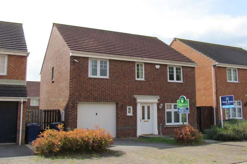 4 Bedrooms Detached House for sale in Kelvedon Avenue, Central Grange, Newcastle Upon Tyne, NE3