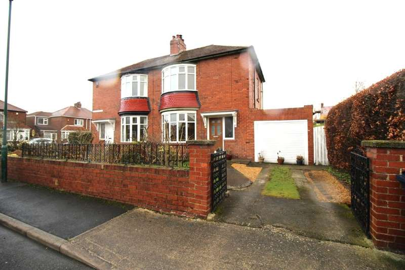 2 Bedrooms Semi Detached House for sale in Beanley Avenue, Hebburn, NE31