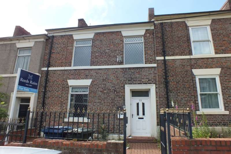 4 Bedrooms Terraced House for sale in York Street, Newcastle Upon Tyne, NE4