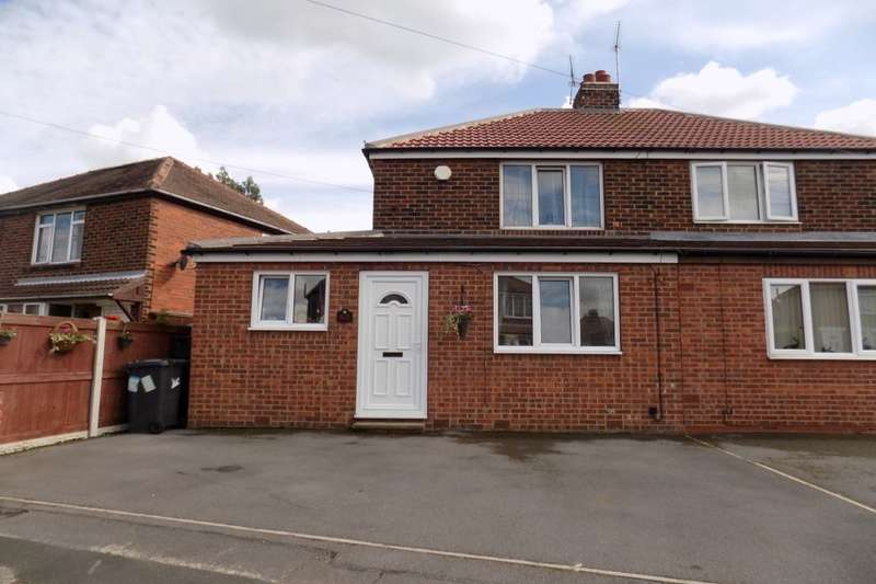 2 Bedrooms Semi Detached House for sale in Tennyson Avenue, Sprotbrough, Doncaster, DN5