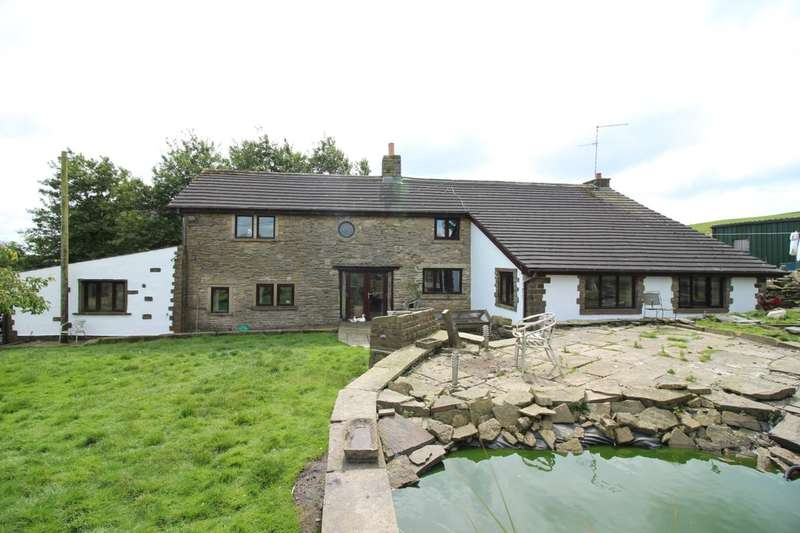 4 Bedrooms Detached House for sale in Doals Farm Off Hillside Crescent, Weir, OL13