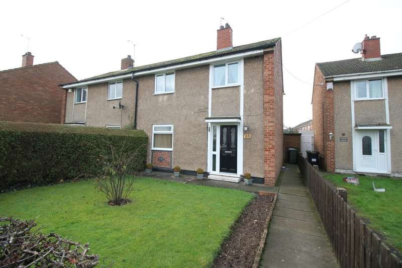 3 Bedrooms Semi Detached House for sale in Newcomen Road, Bedworth, CV12