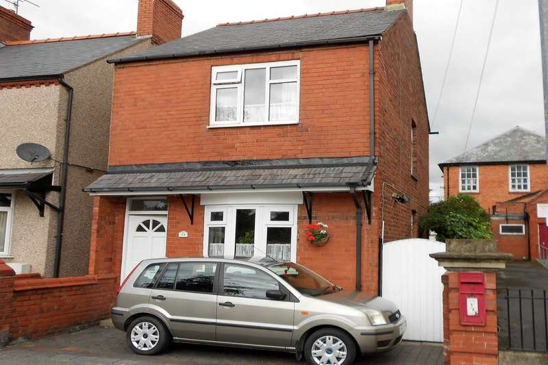 3 Bedrooms Detached House for sale in Broad Street, Rhosllanerchrugog, Wrexham, LL14