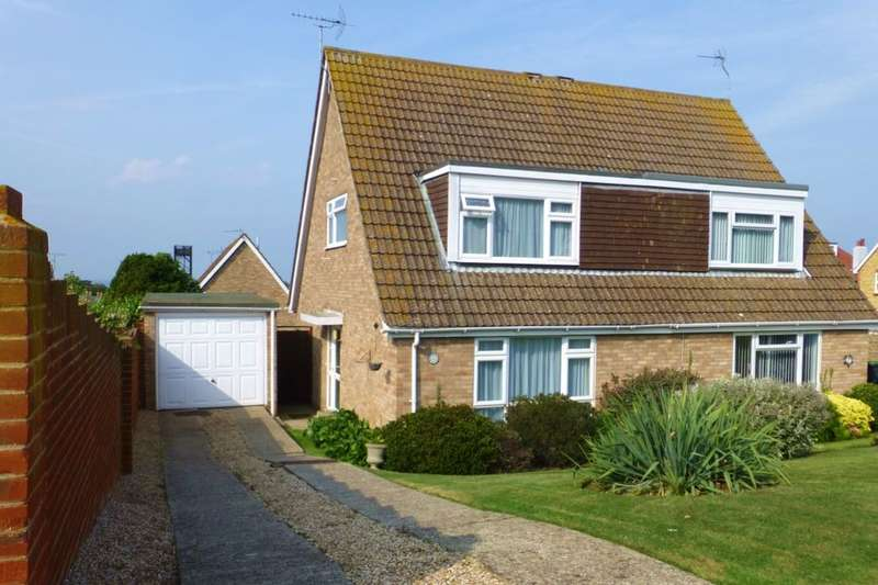 3 Bedrooms Semi Detached House for sale in Shearwater Avenue, Whitstable, CT5