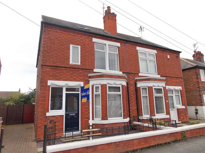 3 Bedrooms Semi Detached House for sale in Roosevelt Avenue, Sawley