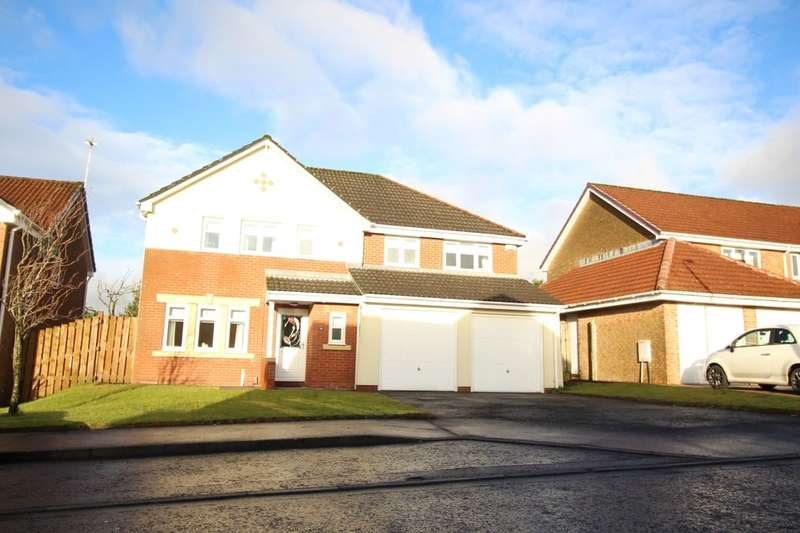 5 Bedrooms Detached House for rent in Ratho Drive, Cumbernauld, Glasgow, G68