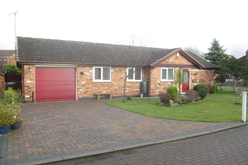 3 Bedrooms Detached Bungalow for sale in Mulcaster Court, Haslington, Crewe, CW1