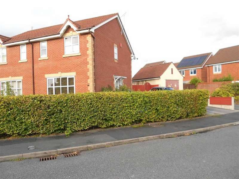 3 Bedrooms Semi Detached House for sale in Langley Drive, Crewe, Cheshire