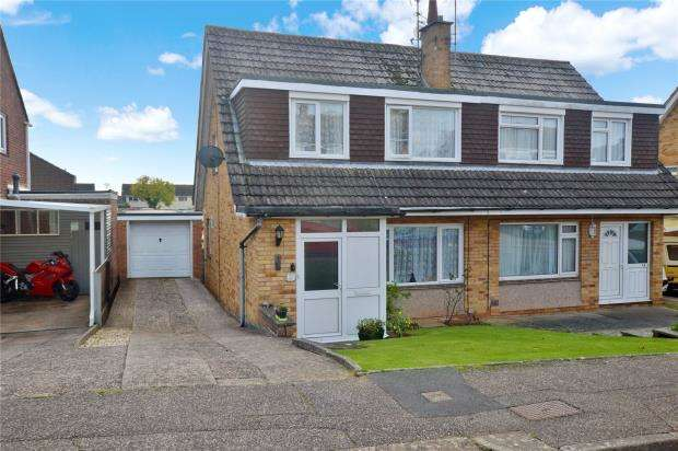 3 Bedrooms Semi Detached House for sale in Greenpark Road, Exmouth, Devon