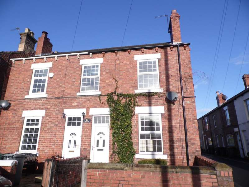 3 Bedrooms Semi Detached House for sale in Thompson Terrace Doncaster Askern