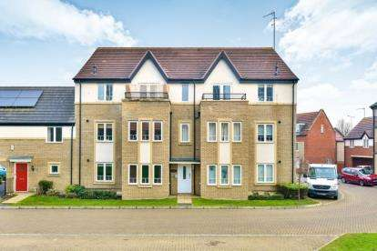2 Bedrooms Flat for sale in Gyosei Gardens, Willen Park, Milton Keynes