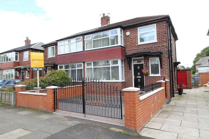 3 Bedrooms Semi Detached House for sale in Newlands Drive, Prestwich