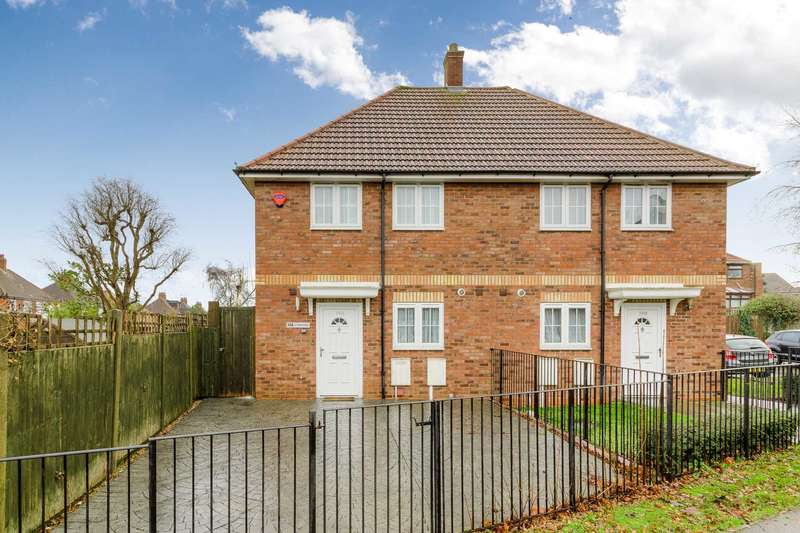 2 Bedrooms Semi Detached House for sale in Saffron Street, Bletchley