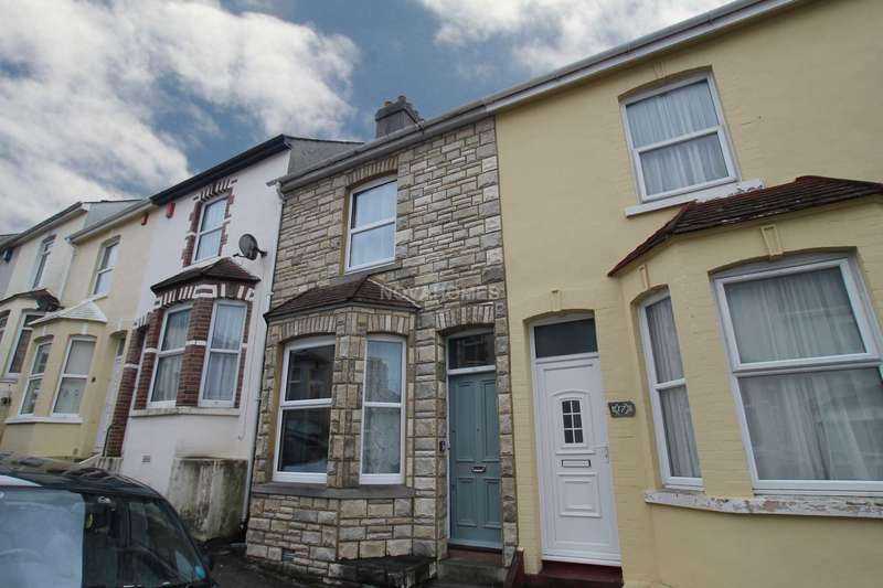 2 Bedrooms Terraced House for sale in Balmoral Avenue, Stoke, PL2 1HP