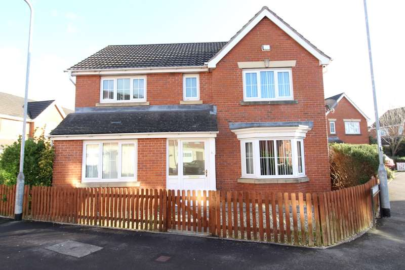 4 Bedrooms Detached House for sale in Brigantine Way, Newport, NP10