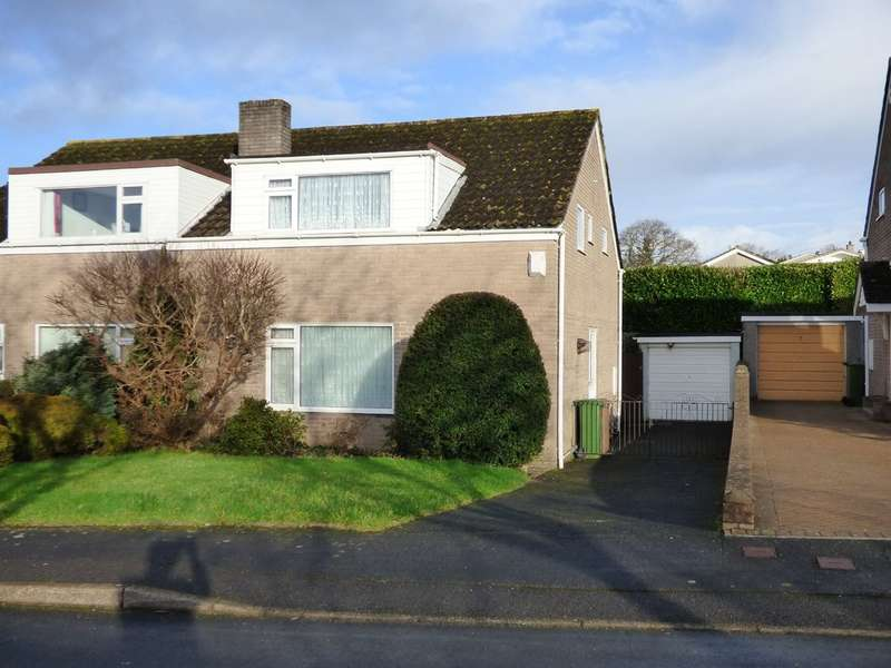 4 Bedrooms Semi Detached House for sale in Broadlands Close, Plympton