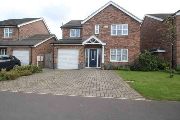 4 Bedrooms Detached House for sale in Ennerdale Lane, Scunthorpe, Lincolnshire, DN16 2RW
