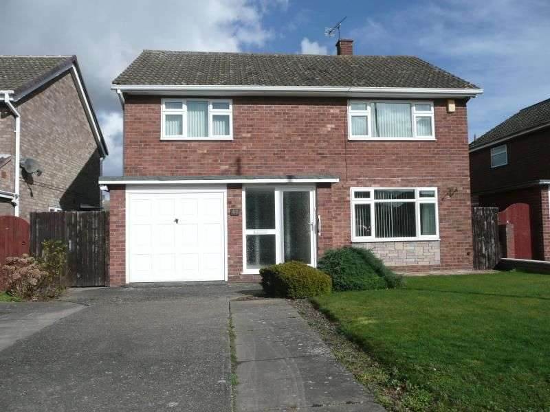 4 Bedrooms Detached House for rent in Admaston Road, Wellington, Telford, TF1