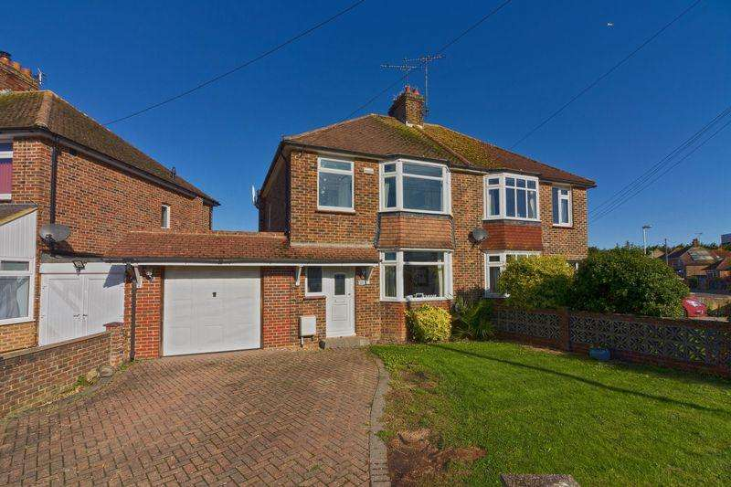 3 Bedrooms Semi Detached House for sale in Greenland Road, Worthing