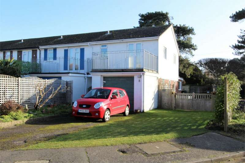 3 Bedrooms End Of Terrace House for sale in Coastguard Way, Christchurch, Dorset