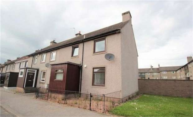 3 Bedrooms End Of Terrace House for sale in Mackay Road, Aberdeen