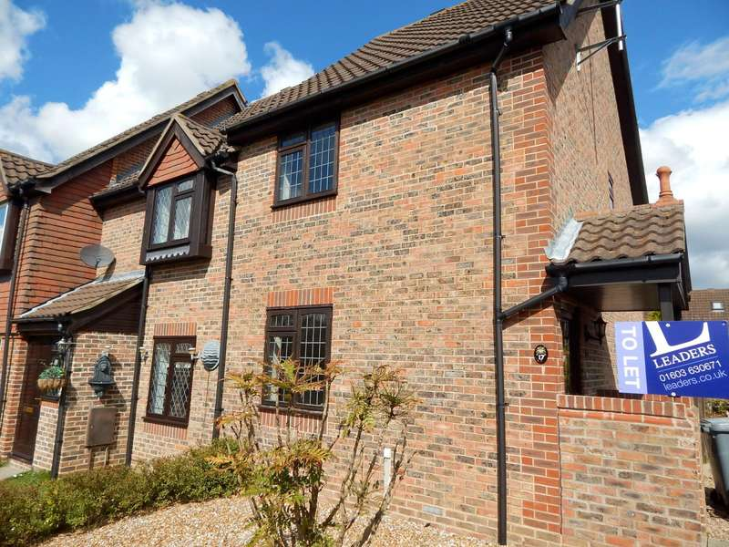 2 Bedrooms End Of Terrace House for rent in Rook Drive, Thorpe Marriot