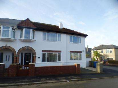 4 Bedrooms Semi Detached House for sale in Manor Avenue, Pwllheli, Gwynedd, LL53