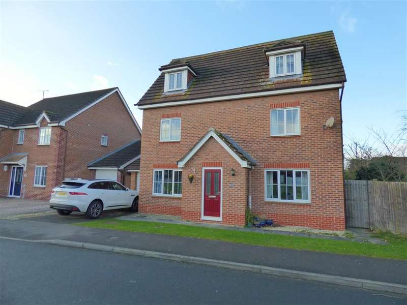 5 Bedrooms Detached House for sale in Warwick Drive, Beverley, HU17 9TB