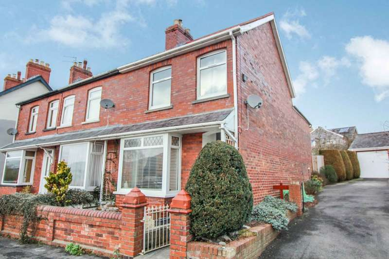 3 Bedrooms End Of Terrace House for sale in Grosvenor Road, Abergavenny, NP7