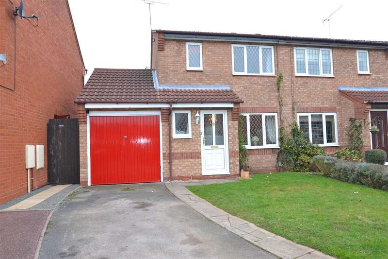 3 Bedrooms Semi Detached House for sale in Repton Close, Stafford