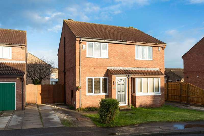 2 Bedrooms Semi Detached House for sale in Longwood Link, Clifton Moor, York, YO30