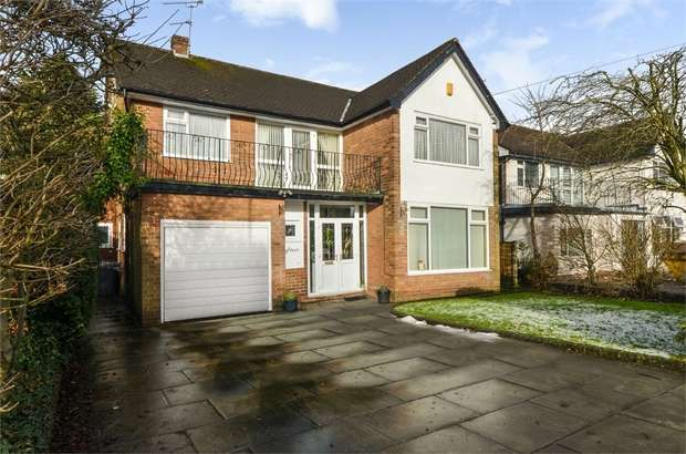 4 Bedrooms Detached House for sale in Park Hill Drive, Whitefield, Manchester, Lancashire