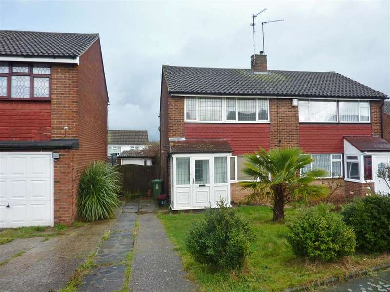 3 Bedrooms Semi Detached House for sale in Wessex Drive, Erith, Kent, DA8