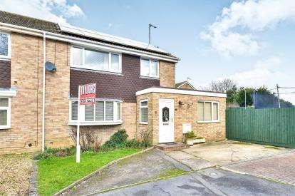 3 Bedrooms Semi Detached House for sale in Welland Drive, Newport Pagnell, Milton Keynes, Bucks