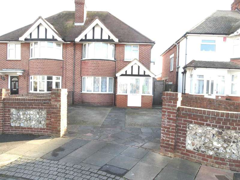 3 Bedrooms Semi Detached House for sale in Kinfauns Avenue, Eastbourne