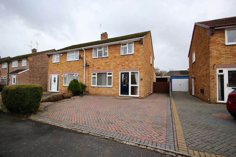 3 Bedrooms Semi Detached House for sale in Penhill Crescent, Worcester, WR2