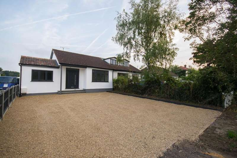 3 Bedrooms Semi Detached Bungalow for sale in Chelmsford Road, Shenfield, Brentwood, Essex, CM15