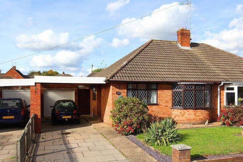 2 Bedrooms Semi Detached Bungalow for sale in WOMBOURNE, Kirkstone Crescent