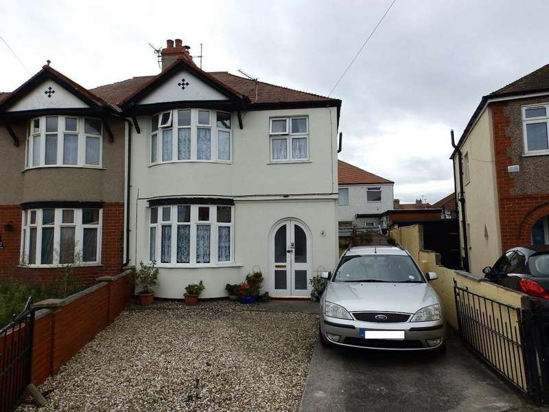 3 Bedrooms Semi Detached House for sale in Winnard Avenue, Rhyl
