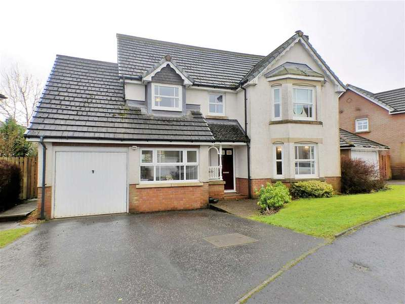 4 Bedrooms Detached House for sale in Beauly Avenue, Strathaven, STRATHAVEN