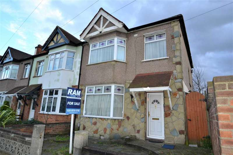 3 Bedrooms End Of Terrace House for sale in Cavenham Gardens, Ilford