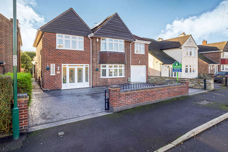 5 Bedrooms Detached House for sale in Aspley Park Drive, Nottingham, NG8