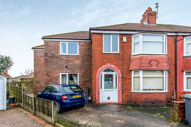 5 Bedrooms Semi Detached House for sale in Mansfield Close, Denton, Manchester, M34