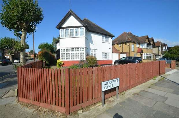 4 Bedrooms Detached House for sale in Woodcroft Avenue, Mill Hill