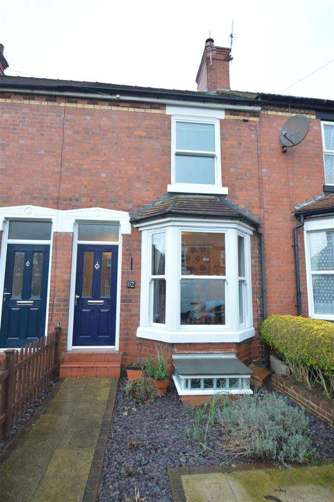 2 Bedrooms Terraced House for sale in 62 Hotspur Street, Shrewsbury, SY1 2QA
