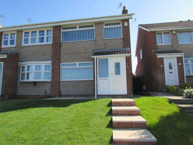 3 Bedrooms Semi Detached House for sale in WOODSTOCK WAY, CLAVERING, HARTLEPOOL