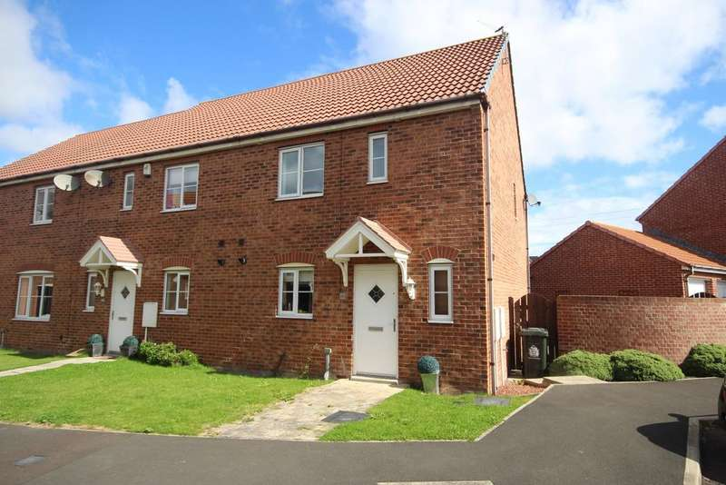 3 Bedrooms Semi Detached House for rent in Bayfield, West Allotment, Newcastle upon Tyne, NE27