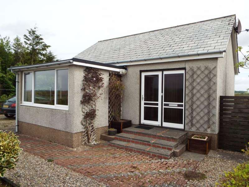 1 Bedroom Detached Bungalow for sale in The Bungalow, Lower Banniskirk, Halkirk, KW12 6XA