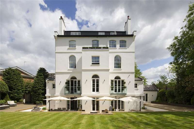 5 Bedrooms Detached House for rent in St. John's Wood Park, St. John's Wood, London, NW8